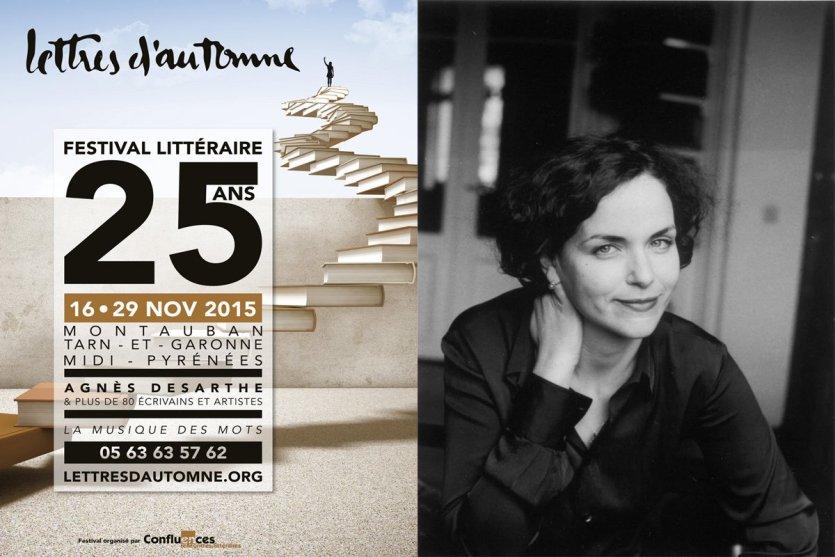 Agnès Desarthe est l'invitée d'honneur de cette 25e édition. - © Lettres d'Automne / Lecture Jeunesse