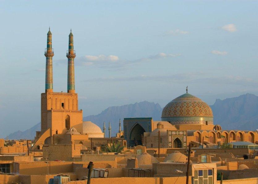 Coucher de soleil sur Yazd. - © Javarman3 - iStockphoto