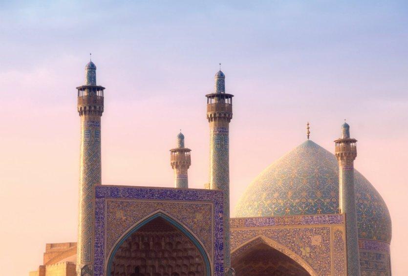 Mosquée du Chah, Ispahan. - © Tunart - iStockphoto