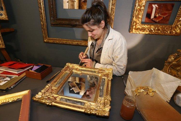 Atelier Art de la feuille d'or. - © Photoproevent