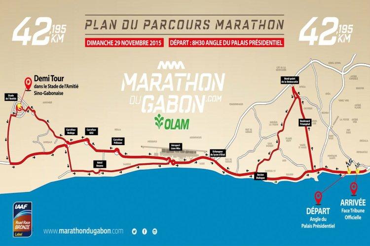 - © Marathon du Gabon