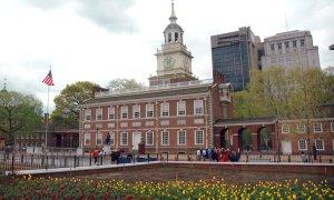 L'Independence Hall de Philadelphie.