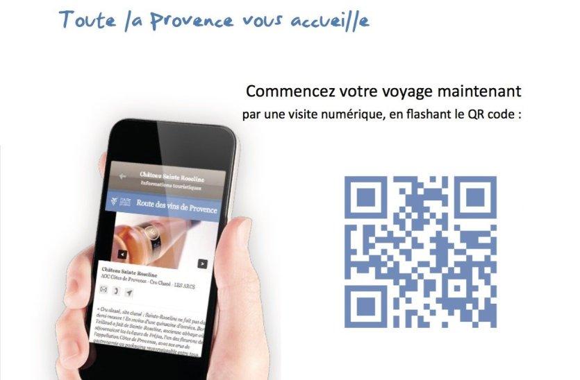 Flashez le QR code de la Route des vins de Provence et embarquez pour une aventure inoubliable - © Conseil Interprofessionnel des Vins de Provence