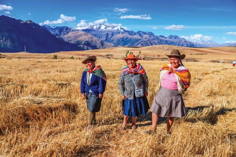 Vallée sacrée des Incas. - © Bartosz HADYNIAK - iStockphoto