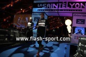 Ligne d'arrivée Halle Tony Garnier - © Flash-sport.com