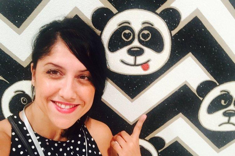 Panda delirium selfie-Art Basel-Miami Beach Convention Center - © Saliha HADJ-DJILANI
