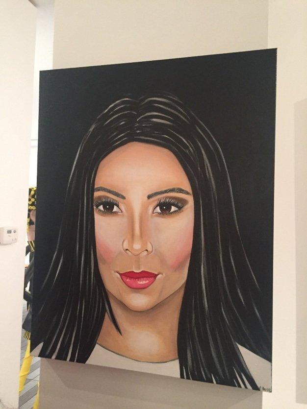 Kim Kardashian par Clara Poupel-France Pavilion