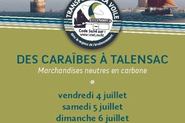 Des caraibes à Talensac No Trace Carbon - © TOWT