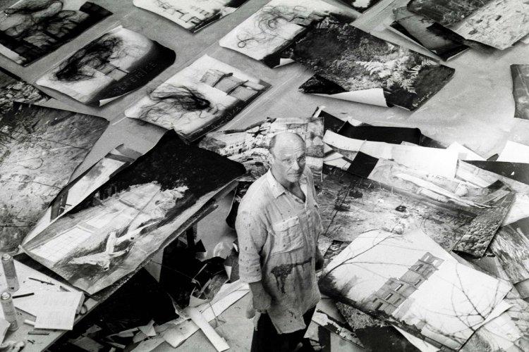 Portrait de Anselm Kiefer - © Centre Pompidou