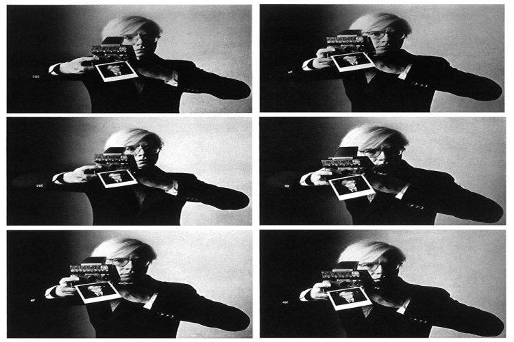 Andy Warhol. - © Oliviero Toscani