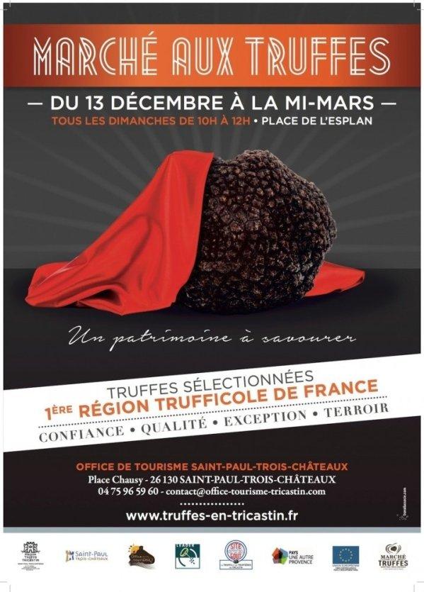 March aux truffes noires du tricastin saint paul trois - Office du tourisme saint paul trois chateaux ...