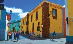 Les belles bâtisses colorées de San Cristóbal de La Laguna.