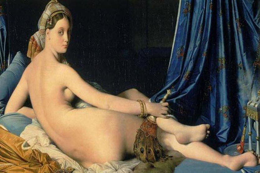 - © La Grande Odalisque, Jean-Auguste-Dominique Ingres, 1814, Musée du Louvre.