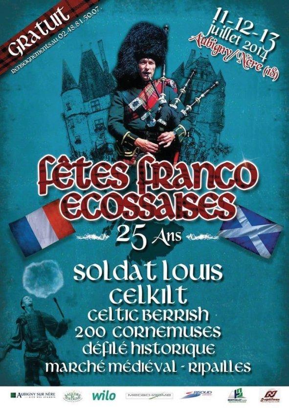 Fêtes Franco Ecossaises - © Office de Tourisme Sauldre Sologne