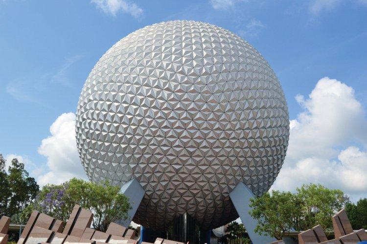Spaceship Earth at Epcot - Walt Disney World - © Stock Image