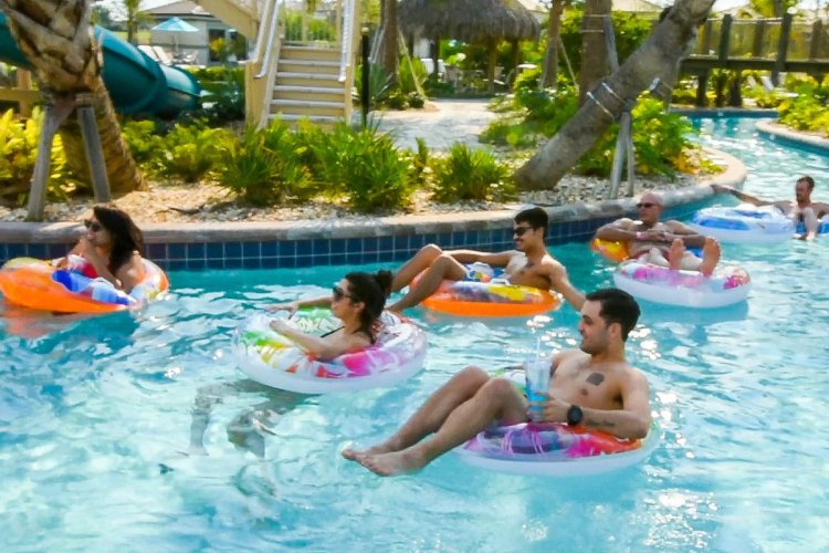 Lazy River - © Tropical Escape Vacation Homes
