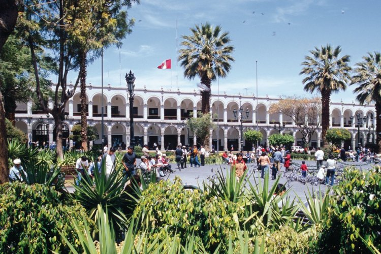 Plaza de Armas à Arequipa. - © Author's Image