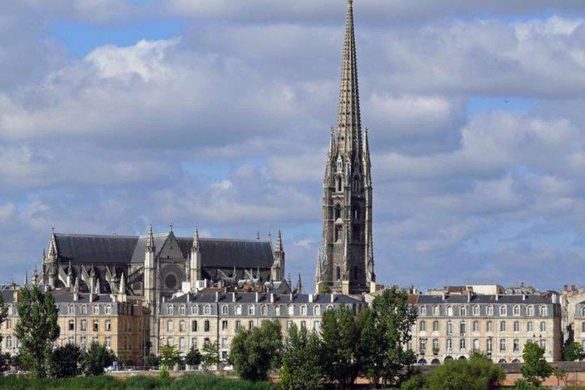 Basilique et flèche Saint-Michel - © Office de tourisme de Bordeaux