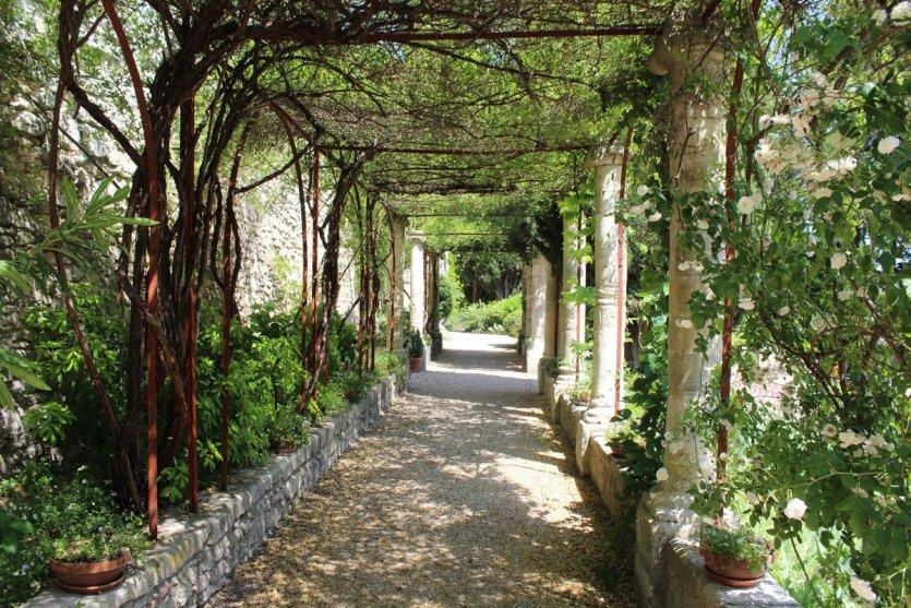 Les jardins de l'Abbaye Saint-André. - © D.R.