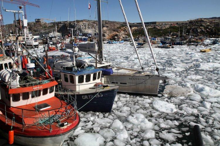 Port d'Ilulissat - © Stéphan SZEREMETA