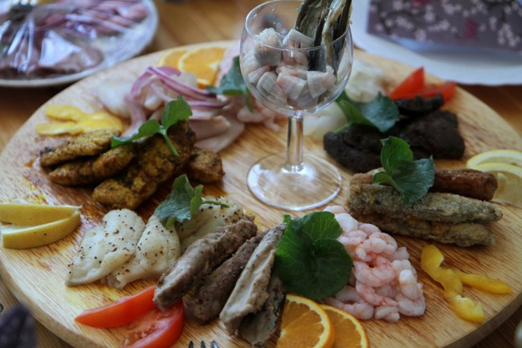 Une gastronomie locale tournée vers la mer - © Stéphan SZEREMETA