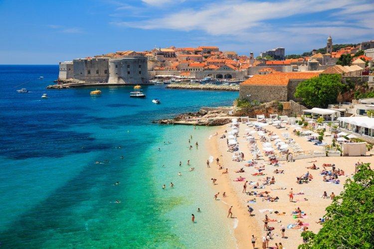 Vue panoramique de la vieille ville de Dubrovnik. - © Sorin Colac - Shutterstock.com