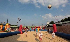 Activités sportives sur la plage de Rouen sur mer.