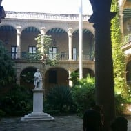 le patio du Palacio Municipal