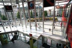 La verrière du centre commercial Porte Jeune (© Ville de Mulhouse)