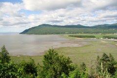 La rive du Saint-Laurent à Baie-Saint-Paul dans Charlevoix. (© Valérie FORTIER)