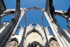 Ruine du couvent do Carmo. (© John Frechet - Iconotec)
