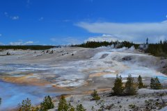Norris Geyser Basin. (© Nelly  JACQUES)