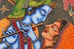 Détail de fresque d'un temple d'Hyderabad. (© reddees - Shutterstock.com)