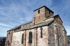 L'église prieuré de Bredons (© B. PICCOLI - Fotolia)