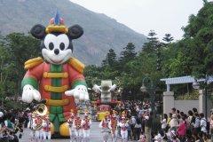 Disneyland Hong Kong, une parade Disney aux accents asiatiques. (© Stéphan SZEREMETA)
