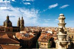Salamanque, vue sur la Clerecia (église de l'université pontificale). (© Author's Image)