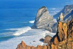 Le Cabo da Roca est le point le plus occidental du continent européen. (© Krasnevsky)
