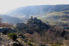 Le château fortifié de Saint-Ilpize (12e siècle). (© VISITE DE SAINT-ILPIZE)