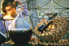 Fabrication de l'huile de noix. (© Soleil Noir)