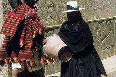 Boliviennes dans les rues de Tarabuco. (© Thierry Lauzun - Iconotec)
