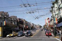 Castro Street, épicentre de la vie gay. (© Stéphan SZEREMETA)