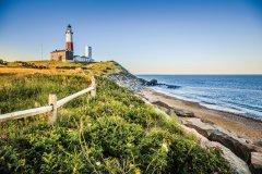 Phare de Montauk, Long Island. (© Alex Potemkin)