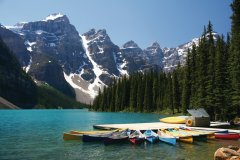 Lac Moraine (© mayskyphoto - Fotolia)