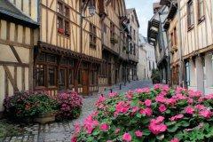 Rue François-Gentil, Troyes (© D. Le Névé - OT Grand Troyes)