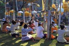 Fête annuelle du temple Pura Rambut Siwi. (© Léa Smith - Iconotec)