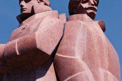 Monument aux fusillés lettons. (© Serge OLIVIER - Author's Image)