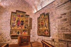 Retable gothique par l'artiste Jaume Huget; église de Santa Maria. (© LuzdeArte / Pere Sebastián)