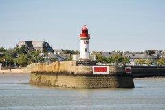 Phare de l'avant-port de Saint-Nazaire. (© M. Leduc/SNTP)