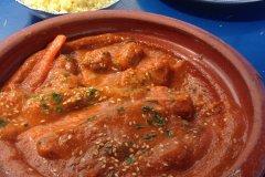 La tajine de kefta, une des nombreuses spécialités du Maroc. (© Camille RENEVOT)
