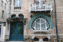 Façade Art Nouveau à Nancy (© SFG - Fotolia)